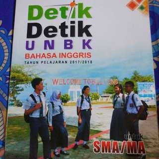 NEW Buku Detik Detik UNBK Bahasa Inggris SMA program IPA 2017/2018
