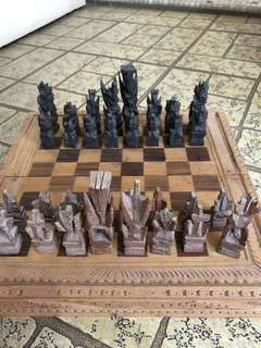 Balinese chess set