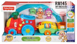 NEW Fisher-Price Puppy's Smart Train