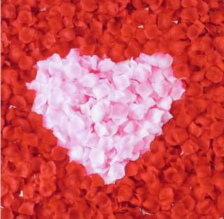 Free Mailing Artificial Rose Flower Petals ( Wedding/Proposal/Birthday/Anniversary )