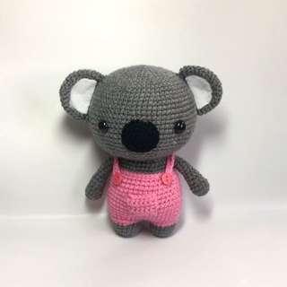 Koala in Suspenders [Amigurumi]