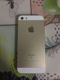 iPhone SE 64gb gold 90% condition rm800