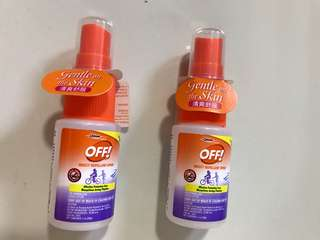 Mosquito Repellent Spray, OFF!