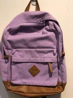 """""""USED"""" Purple Backpack"""