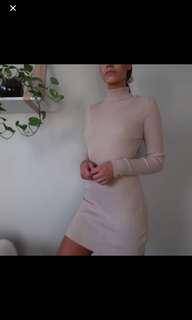 Afends Turle Neck Dress