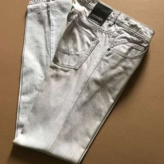 Penshoppe DenimLab Whitewash Pants
