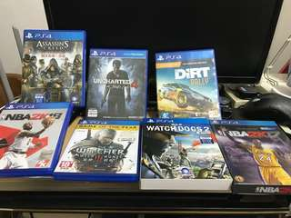 Ps4 1TB 連game 雙手制