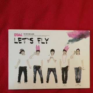B1A4 first mini Let Fly