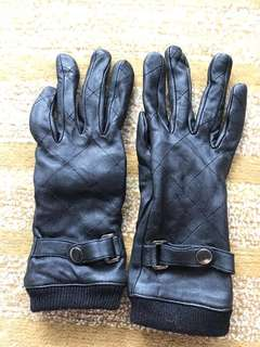 Leather gloves for ladies