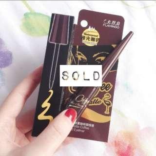➖SOLD➖Flamingo Matte Liquid Eyeliner (Coffee Brown)