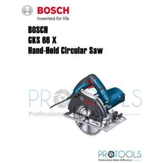 BOSCH GKS 66 X HAND-HELD CIRCULAR SAW PROFESSIONAL 1200W GKS66X