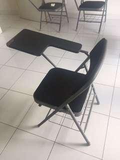 Bangku Belajar/Mahasiswa dengan Meja lipat