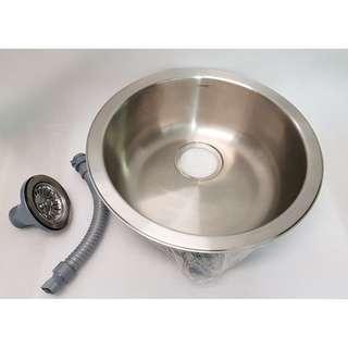 Kitchen sink -Round single bowl - MOEN