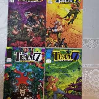 Image comics Team 7