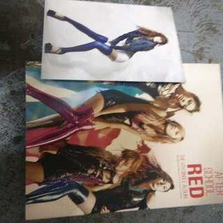 After School Red the 4th single album