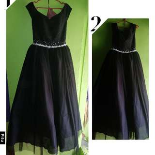 Elegant BallGown (Black)