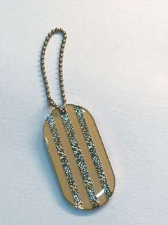 Chanel pink tag charm 匙扣吊飾