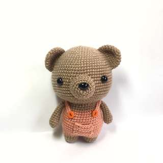 Bear in Suspenders [Amigurumi]