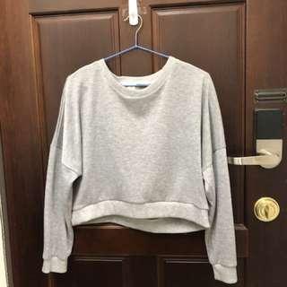 🚚 灰色短版上衣🎉