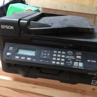 EPSON掃描 影印 傳真 多功能事務機 只使用半年