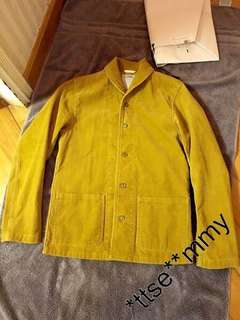 Visvim artifact coverall corduroy lhamo 1 S pfd deckhand 101 jacket denim damaged nw grizzly