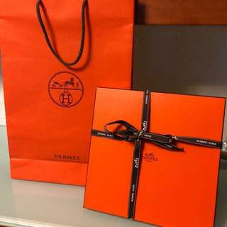 Hermes scarf box set