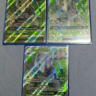Golispod pokemon cards gx full art new