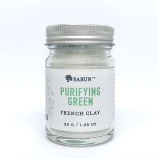 Purifying French Green Clay Mask