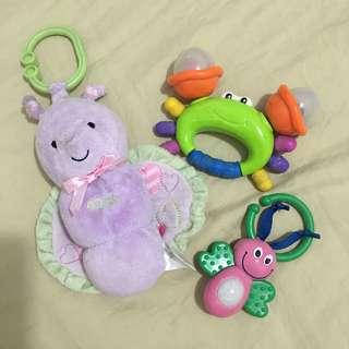 Carters Bundle infant toys