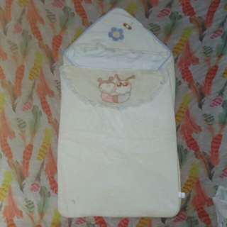 Baby Blanket with Zipper and Hood