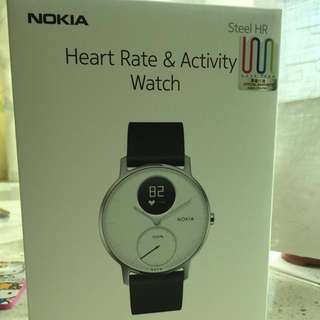 全新Nokia Steel HR智能手錶(36mm)