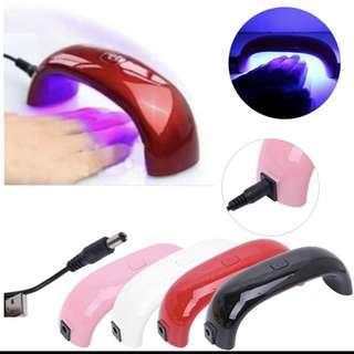 (Instocks) mini portable nail gel machine