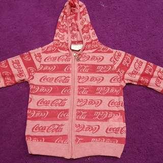 COCA-COLA HOODIE SHIRT
