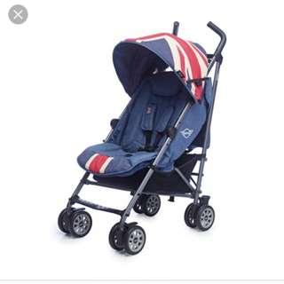 Stroller - Mini Cooper Union Jack - Ori