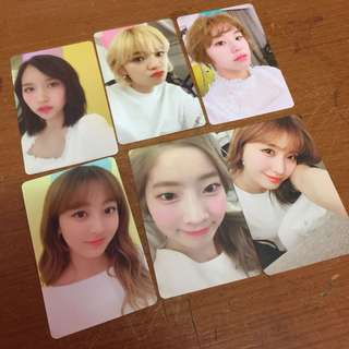 WTS- Extreme limited ONCE membership photocards