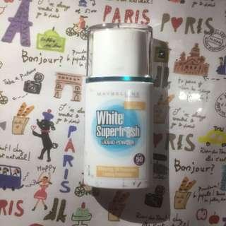 Maybelline White Super Fresh Liquid Powder