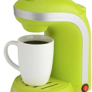 Kitchen Selectives Single Serve Coffee Maker with 12-oz. Mug - Green
