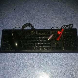 A4Tech Keyboard & Mouse