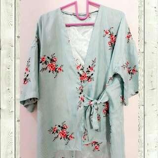 blose kimono saten