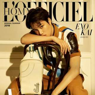 L'officiel Hommes YK edition (Spring/Summer 2018 - Kai Cover)
