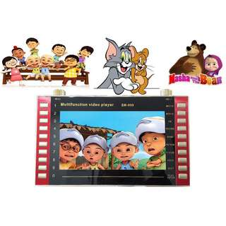 MP4 10inch Kid Learning Player Islamic Learning Video Memory Card