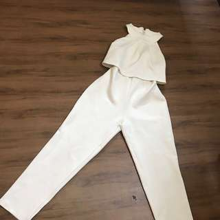 Broken White jumpsuit