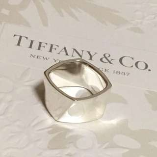 Rare Excellent Authentic Tiffany & Co. Gehry Wide Torque Ring 6.25