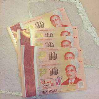 Singapore SG50 Commemorative $10 Notes