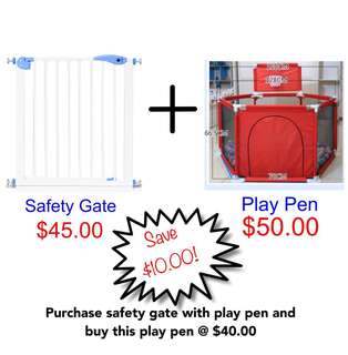 Mix and Match - Safety Gate/Car Seat/Play Pen