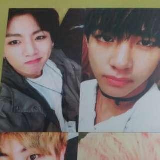 BTS hyyhpt2 v/jk小卡photocard
