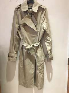 Brand New H&M Beige Trench Coat
