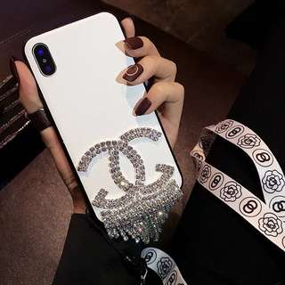 Bling bling chanel iPhone case