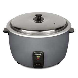 Milux Commercial Rice Cooker - 2.8 Liters (MRC-528)