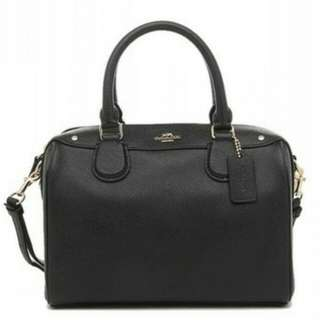 COACH MINI BENNETT SATCHEL IN CROSSGRAIN LEATHER  F57521